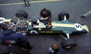 Jim Clark's Lotus 49 on its debut
