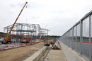 Work continues on the new Silverstone pit and paddock buildings
