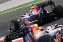 Mark Webber leads Sebastian Vettel through the chicane, Turkish Grand Prix, Istanbul, May 30, 2010