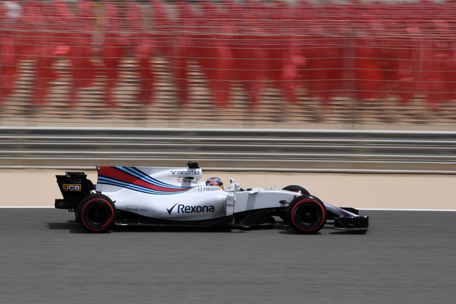 Gary Paffett on track in the Williams