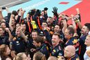 Red Bull Racing celebrate in parc ferme