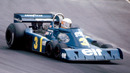 Jody Scheckter on his way to victory in Sweden