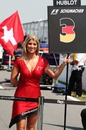 Michael Schumacher's grid girl on race day