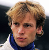 Stefan Bellof ahead of the race