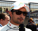 Tonio Liuzzi gives an interview on the grid