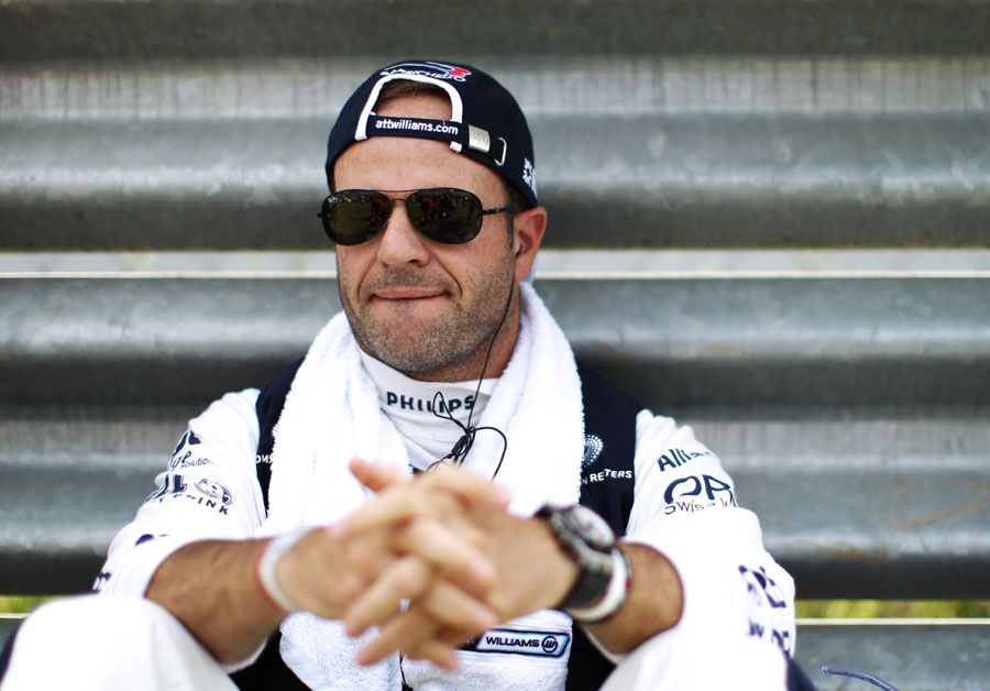Rubens Barrichello keeps cool ahead of the Canadian Grand Prix