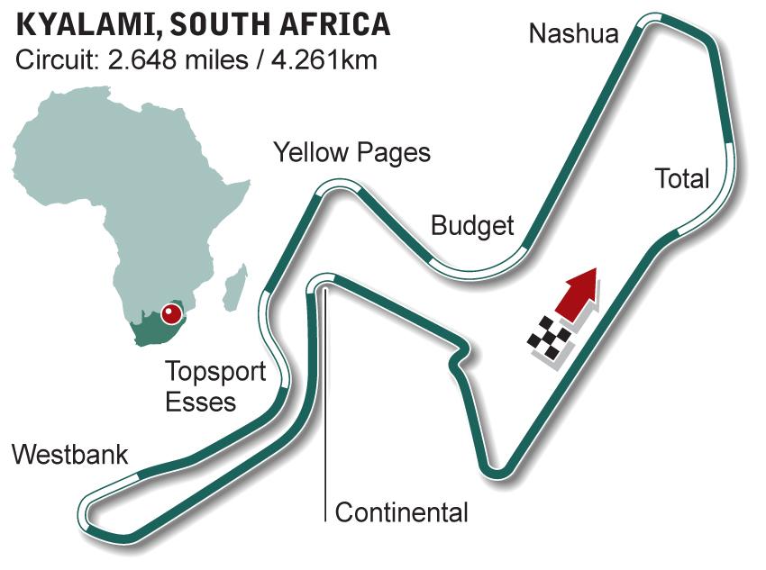 Kyalami | Formula 1 circuits | Kyalami news and live F1 | ESPN.co.uk