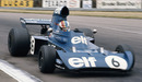 Francois Cevert drives the Tyrrell 006-Ford