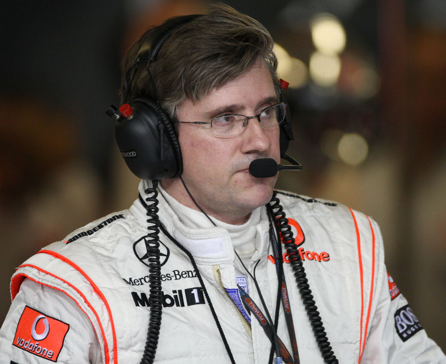 McLaren engineer Pat Fry