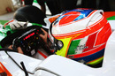 Force India's Paul di Resta prepares for action