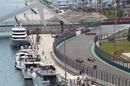 Lewis Hamilton passes Timo Glock