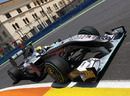 Nico Rosberg hits the apex