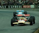 Jochen Rindt holds off Jackie Stewart
