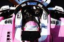 Nikita Mazepin in the Force India