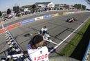 Will Power takes the chequered flag at Watkins Glen