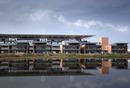 Paddock buildings at the new Korean Grand Prix circuit