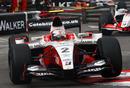 Sam Bird tackles Monaco's chicanes