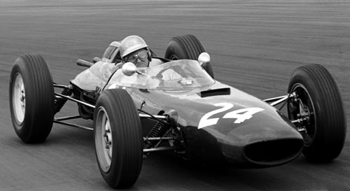John Campbell-Jones at the 1963 British Grand Prix