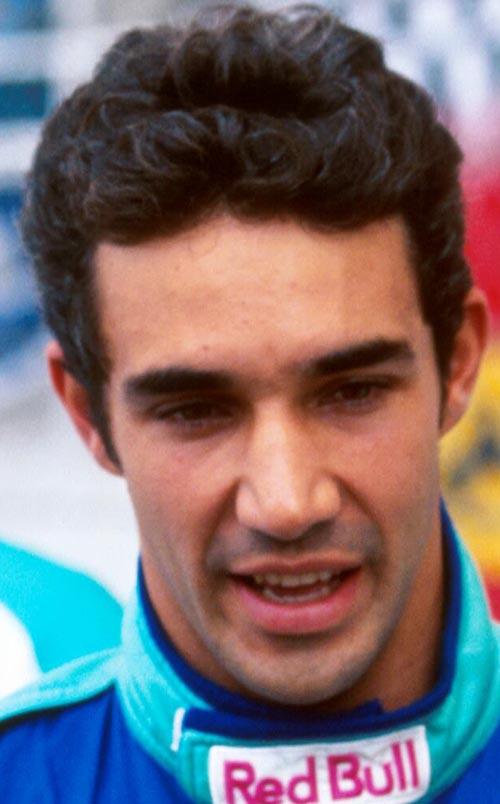 Pedro Diniz of Sauber at the Malaysian Grand Prix