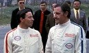 Jim Clark and Graham Hill chat at Zandvoort