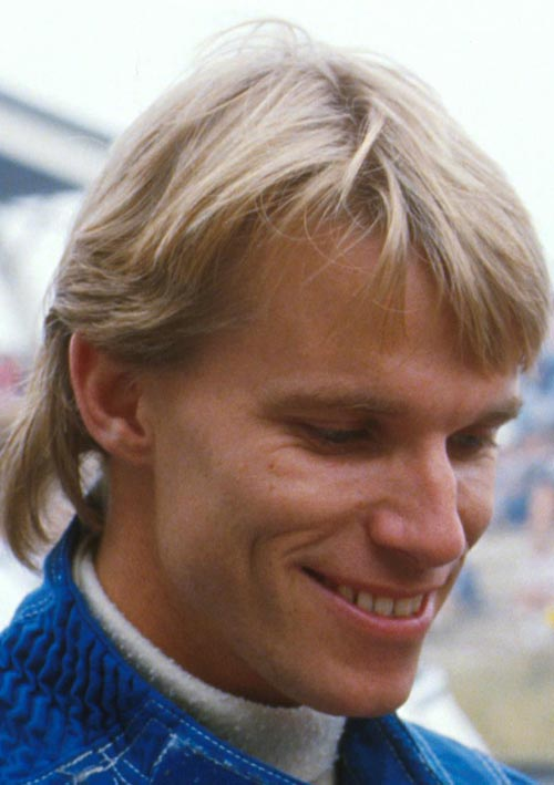 Stefan Johansson of Tyrrell at the 1984 Dutch Grand Prix