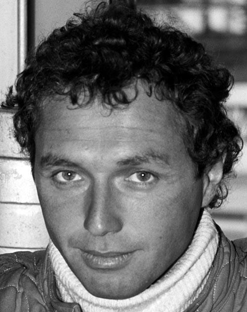 Jochen Mass of McLaren, at the 1977 Formula One South African Grand Prix