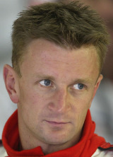 Allan McNish of  Toyota at the 2002 Belgian Grand Prix