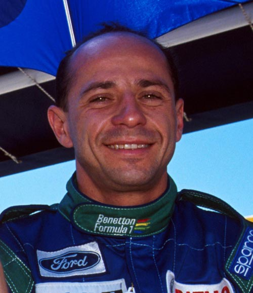 Roberto Moreno of Benetton at the 1990 Australian Grand Prix