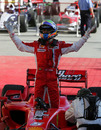 Felipe Massa win his first race of the season in Bahrain