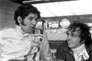 Jody Scheckter and Gerry Birrell at Brands Hatch