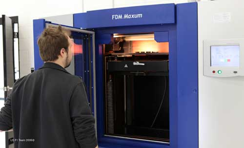 US F1's rapid prototyping machine