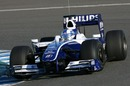 F2 champion Andy Soucek tests the Williams FW31 F1