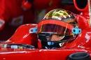 Jules Bianchi testing for Ferrari