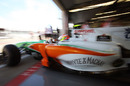 Paul di Resta leaves the pits