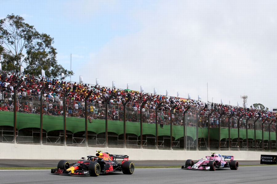 Esteban Ocon closes to race leader Max Verstappen