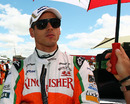 Adrian Sutil ahead of the race