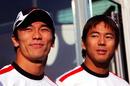 Takuma Sato and Sakon Yamamoto