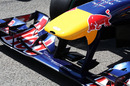 The new Red Bull Racing RB6 front wing