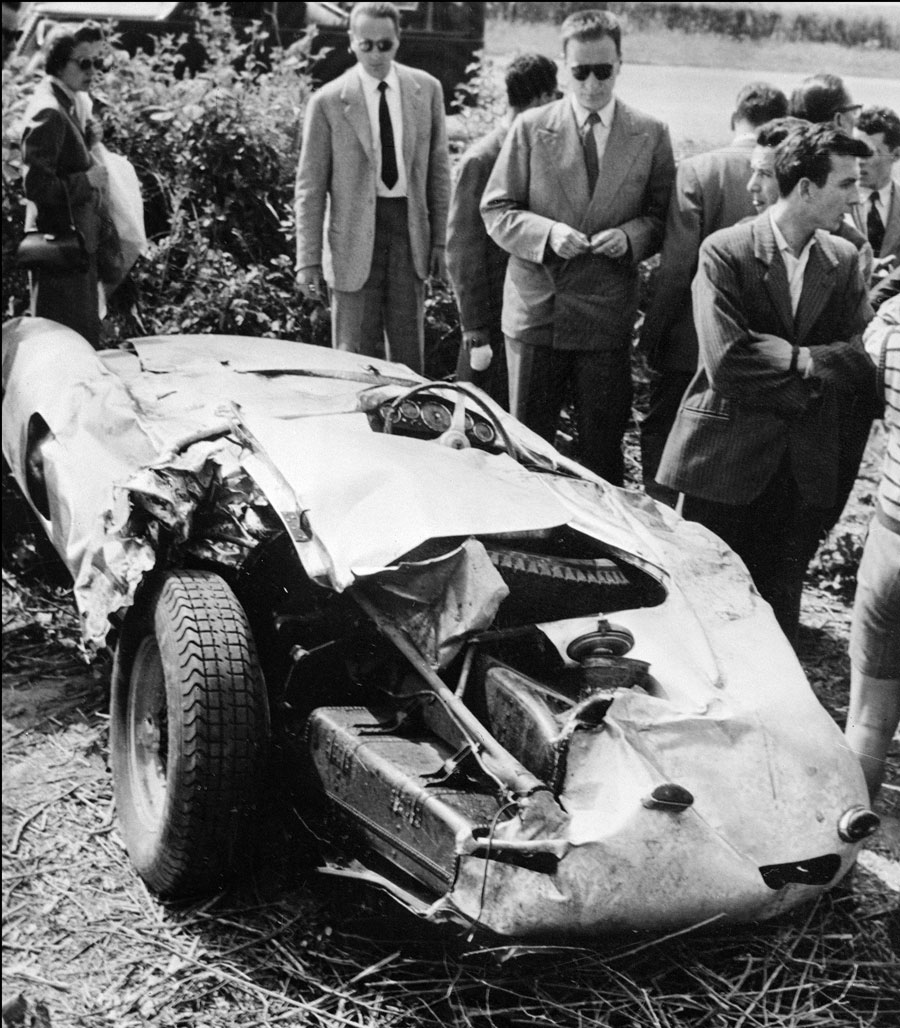 The car that Alberto Ascari died