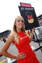 Michael Schumacher's grid girl