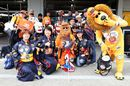 Red Bull Racing fans show their support