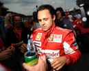 Felipe Massa ahead of the race
