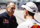 Franz Tost with Toro Rosso driver Sebastien Buemi, Turkish Grand Prix, Istanbul, May 28, 2010