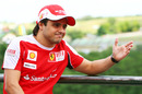 Felipe Massa in reflective mood