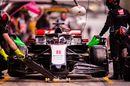 Romain Grosjean returns to the pit