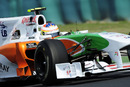 Force India test driver Paul di Resta during practice
