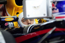 Mark Webber watches on with interest