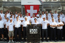Sauber celebrates its 300th grand prix and the national day for Switzerland