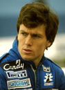 Andrea de Cesaris during his curtailed 1985 season with Ligier
