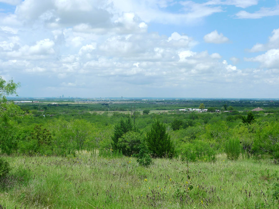The east side of the Austin Grand Prix site, looking towards the Airport and the city of Austin